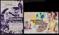 """Movie Posters:Musical, The Cat and the Fiddle & Other Lot (MGM, 1934). Heralds (2) (7"""" X 11""""). Musical.. ... (Total: 2 Items)"""