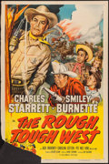 "Movie Posters:Western, The Rough, Tough West (Columbia, 1952). One Sheet (27"" X 41"").Western.. ..."