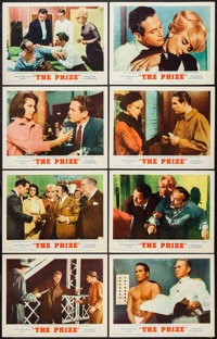 "The Prize (MGM, 1963). Lobby Card Set of 8 (11"" X 14""). Thriller. ... (Total: 8 Items)"