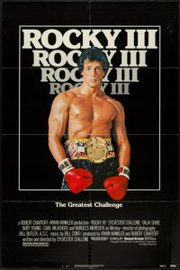 "Rocky III & Other Lot (United Artists, 1982). One Sheets (2) (27"" X 41""). Sports. ... (Total: 2 Items)"