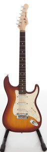 Musical Instruments:Acoustic Guitars, 2000s G&L Legacy Sunburst Solid Body Electric Guitar, Serial #CL03945....