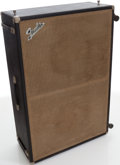 Musical Instruments:Acoustic Guitars, Circa 1966 Fender Bassman Black Speaker Cabinet....