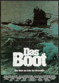 "Movie Posters:War, Das Boot (Constantin, 1981). German A1 (23"" X 33""). War.. ..."