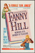 "Movie Posters:Bad Girl, Fanny Hill (Famous Players Corp., 1965). One Sheet (27"" X 41""). BadGirl.. ..."