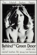 "Movie Posters:Adult, Behind the Green Door (Mitchell Brothers Film Group, 1972). OneSheet (24"" X 35.5""). Adult.. ..."