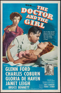 "The Doctor and the Girl (MGM, 1949). One Sheet (27"" X 41""). Drama"