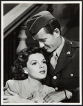 "Movie Posters:Romance, Judy Garland & Robert Walker in The Clock (MGM, 1945). Portrait Photo (10"" X 13"").. ..."
