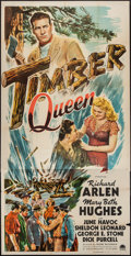 "Movie Posters:Adventure, Timber Queen (Paramount, 1944). Three Sheet (41"" X 80"").Adventure.. ..."