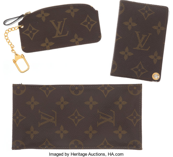 d41668ef1f Set of Three; Louis Vuitton by French Company Monogram Canvas | Lot ...