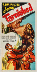 "Movie Posters:Action, Tarnished (Republic, 1950). Three Sheet (41"" X 79.5""). Action.. ..."