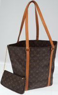 Luxury Accessories:Bags, Louis Vuitton Monogram Canvas Sac Shopping Large Tote Bag withPochette. ...