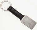 Luxury Accessories:Accessories, Ralph Lauren Sterling Silver and Black Crocodile Keychain. ...