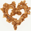 Luxury Accessories:Accessories, Christian Lacroix Heart Shaped Butterfly Pin. ...