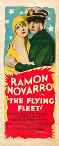 "Movie Posters:Adventure, The Flying Fleet (MGM, 1929). Insert (14"" X 36"").. ..."