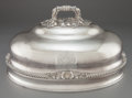 Silver Holloware, British:Holloware, A GEORGE III SHEFFIELD SILVER PLATED MEAT DOME . Maker unknown,Sheffield, England, circa 1800. Unmarked. 11-1/4 x 20-1/8 x ...