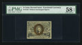 Fractional Currency:Second Issue, Fr. 1232 5¢ Second Issue PMG Choice About Unc 58 EPQ.. ...