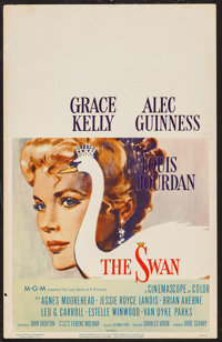 "The Swan (MGM, 1956). Window Card (14"" X 22""). Romance"