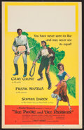 """Movie Posters:Adventure, The Pride and the Passion (United Artists, 1957). Window Card (14""""X 22""""). Adventure.. ..."""