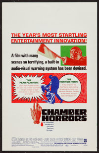 "Chamber of Horrors (Warner Brothers, 1966). Window Card (14"" X 22""). Horror"