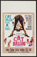 "Movie Posters:Comedy, Cat Ballou (Columbia, 1965). Window Card (14"" X 22""). Comedy.. ..."