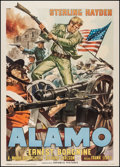 "Movie Posters:Western, Last Command (Republic, R-1960). Italian 2 - Foglio (39"" X 55"").Western.. ..."
