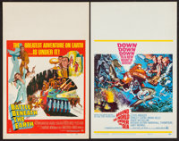"Battle Beneath the Earth and Other Lot (MGM, 1968). Window Cards (2) (14"" X 22""). Science Fiction. ... (Total:..."