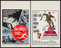 "Movie Posters:Adventure, The Naked Prey and Other Lot (Paramount, 1965). Window Cards (2)(14"" X 22""). Adventure.. ... (Total: 2 Items)"