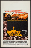 """Movie Posters:War, Battle of the Bulge (Warner Brothers, 1966). Window Card (14"""" X22""""). War.. ..."""