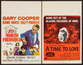 "Movie Posters:Drama, 10 North Frederick and Other Lot (20th Century Fox, 1958). Window Cards (2) (14"" X 22""). Drama.. ... (Total: 2 Items)"