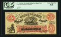 Confederate Notes:1861 Issues, CT-XXI $20 Female Riding Deer Bogus Note 1861.. ...