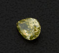 Estate Jewelry:Unmounted Diamonds, Unmounted Pear Shape Yellow Diamond . ...