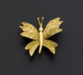 Estate Jewelry:Brooches - Pins, Tiffany & Co 18k Gold Butterfly Brooch. ...