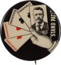 Political:Pinback Buttons (1896-present), Theodore Roosevelt: Classic Stand Pat Button....