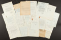 Boxing Collectibles:Autographs, Various Boxing Commission Letters and Responses - Lot of 25. ...