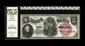 Large Size:Legal Tender Notes, Fr. 74 $5 1880 Legal Tender PCGS Gem New 66PPQ. Owing to the existence of several small hoards, this Large Round Red Seal Bl...