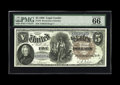 Large Size:Legal Tender Notes, Fr. 78 $5 1880 Legal Tender PMG Gem Uncirculated 66 EPQ. With amere three dozen or so survivors, this Friedberg number is q...