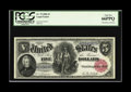 Large Size:Legal Tender Notes, Fr. 79 $5 1880 Legal Tender PCGS Gem New 66PPQ. This 1880 series note was printed on very white paper that gave outstanding ...