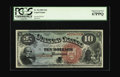 Large Size:Legal Tender Notes, Fr. 96 $10 1869 Legal Tender PCGS Superb Gem New 67PPQ. Thecascading swath of blue color combined with the perfectly brilli...