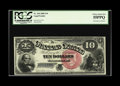 Large Size:Legal Tender Notes, Fr. 104 $10 1880 Legal Tender PCGS Choice About New 55PPQ. Once notes that are permanently impounded in institutional collec...