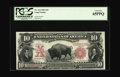 Large Size:Legal Tender Notes, Fr. 114 $10 1901 Legal Tender PCGS Gem New 65PPQ. When wepreviously featured this Bison in one of our Signature Auctionswe...