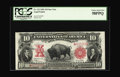 Large Size:Legal Tender Notes, Fr. 122 $10 1901 Legal Tender Star Note PCGS Choice About New58PPQ. For some time, this note was listed in the census as Un...