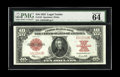 Large Size:Legal Tender Notes, Fr. 123 $10 1923 Legal Tender PMG Choice Uncirculated 64 EPQ. Theadded comments Exceptional Paper Quality may not always st...