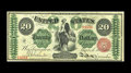 Large Size:Legal Tender Notes, Fr. 126b $20 1863 Legal Tender Very Fine-Extremely Fine. Nicesurfaces are seen on this early Legal $20. It is new to the ce...