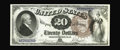 Large Size:Legal Tender Notes, Fr. 138 $20 1880 Legal Tender Gem New. A gorgeous note, which makeseleven high-grade pieces known of the roughly fifty kno...