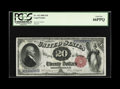 Large Size:Legal Tender Notes, Fr. 142 $20 1880 Legal Tender PCGS Gem New 66PPQ.This note falls inthe run that is known to collectors for supplying beauti...