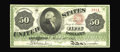 Large Size:Legal Tender Notes, Fr. 148 $50 1862 Legal Tender Extremely Fine. This great note islisted on the census without its grade. It was reported to ...