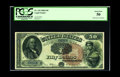 Large Size:Legal Tender Notes, Fr. 155 $50 1880 Legal Tender PCGS About New 50. Of just sevennotes available to collectors (three of which have not appear...