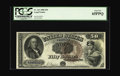 Large Size:Legal Tender Notes, Fr. 161 $50 1880 Legal Tender PCGS Gem New 65PPQ. Were it not for asmall run of uncirculated examples of this issue surfaci...