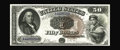 Large Size:Legal Tender Notes, Fr. 161 $50 1880 Legal Tender Gem New. This beautiful note is fromthe run of CU examples that have supplied collectors this...
