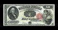 Large Size:Legal Tender Notes, Fr. 164 $50 1880 Legal Tender Very Fine. For the amount ofcirculation this piece saw, some features are still ideal. Takef...